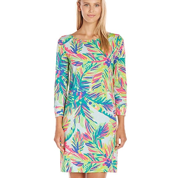 0944154fc436d2 Lilly Putlizer Marlowe Linden pima cotton dress. M_5b663b1ddf03072febd6d85d